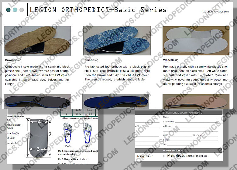 forms and brochures legion orthopedics