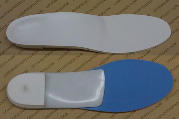 New Orthotic top and Bottom view